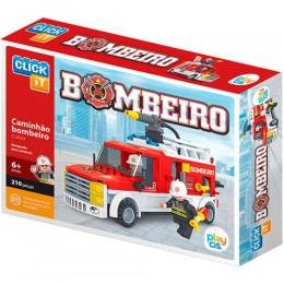 Caminhão de Bombeiro p/ Montar - Play Cis