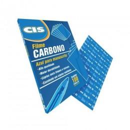 Carbono Filme Manuscrito Azul Cis | 100 Folhas