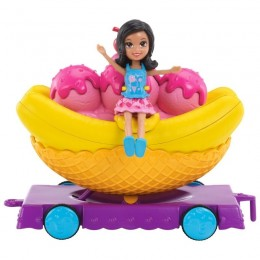 Polly Pocket Carrinho Banana Dvj68 Mattel