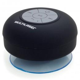 Mini Caixa de Som Portátil Multilaser Box Shower, SP225 - 8W RMS, Bluetooth, À prova D'água