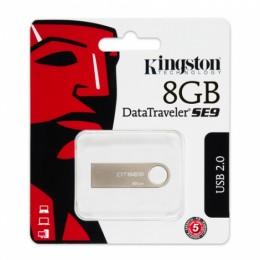 Pen Drive Datatraveler Se9 8gb Usb 2.0 Prata Kingston