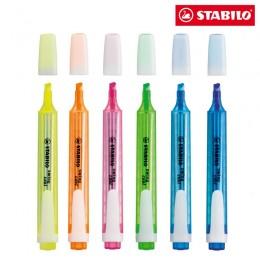 Marca Texto Stabilo Swing Cool - Estojo com 06 unidades