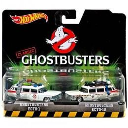 Hot Wheels Set Ghostbusters Ecto 1 E Ecto 1a - Mattel Dvg08