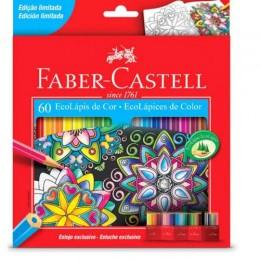 Ecolápis De Cor - Edição Especial Com Estojo - 60 Cores - Faber-Castell