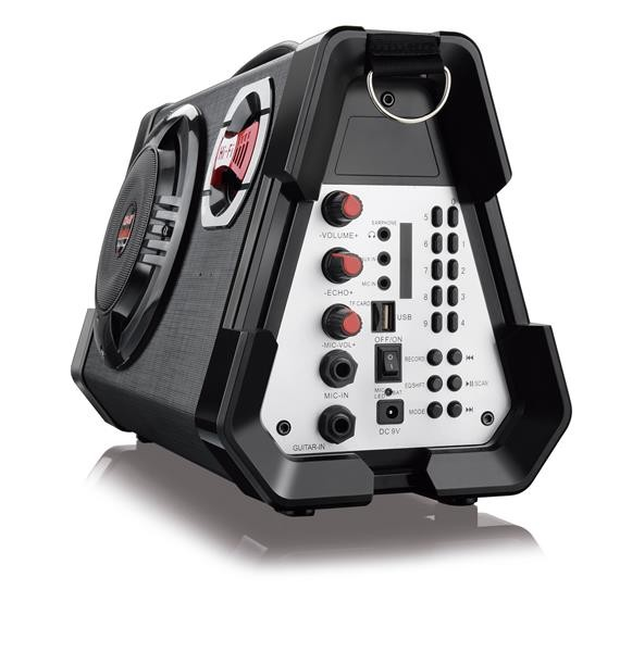 Caixa de Som Multiuso Microfone Mp3 Usb/sd/fm/guitarra Sp191