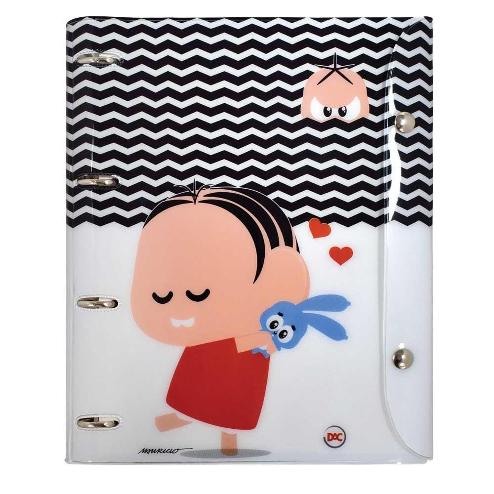 Caderno Universitário Argolado - Monica Toy
