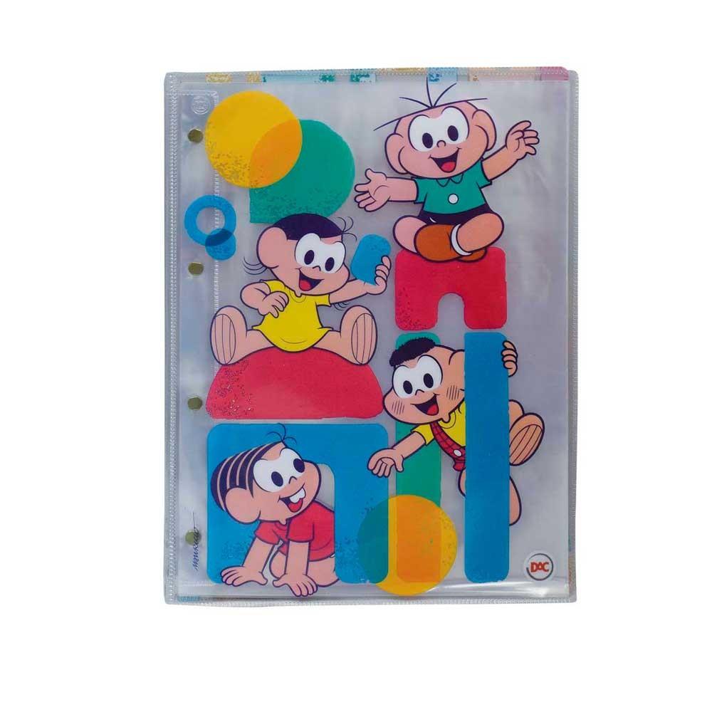 Pasta Catálogo c/10 Divisões - Turma da Mônica - Dac -2487