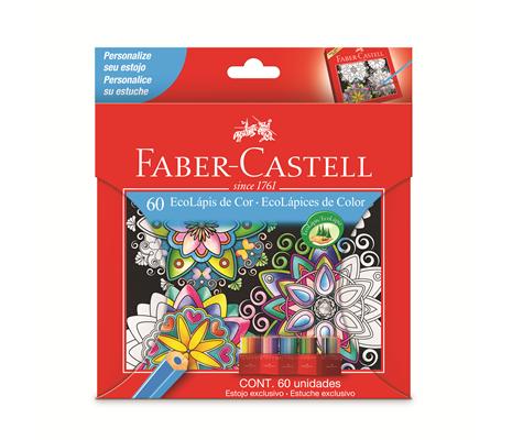 Lapis De Cor Faber Castell 60 Cores Edição Limitada