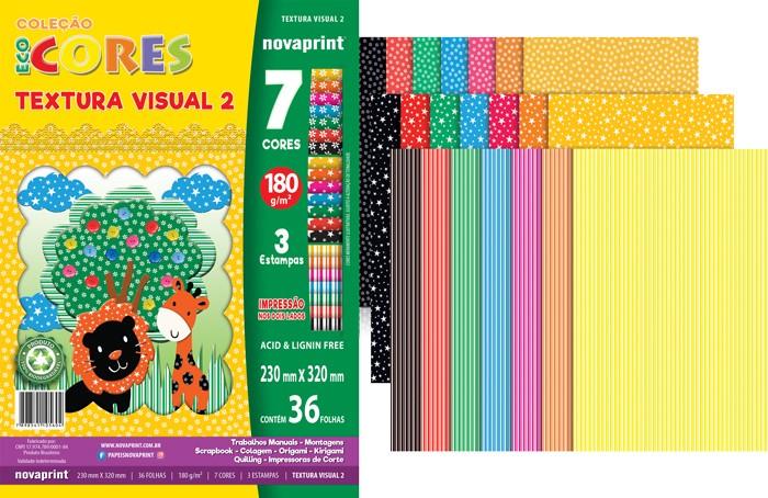 Papel Textura Visual Ecocores n.02