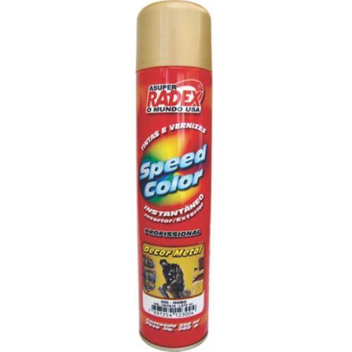 Tinta Spray Decor Metal - Ouro 350ml - Radex
