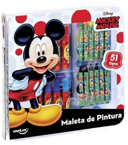 Maleta de Pintura Mickey 51 Ítnes