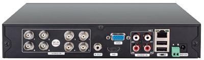 DVR 960P AHD-M Hibrido 8 Canais SE208 Multilaser