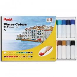 Aquarela em Tubo Pentel c/24 cores