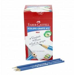 Lápis Preto Ecolápis -Faber Castell CX C/144unidades