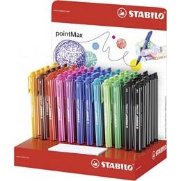 Caneta Stabilo pointMax C/60 Canetas c/10 Cores
