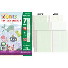 Papel Textura Visual Ecocores n.03  marca novaprint