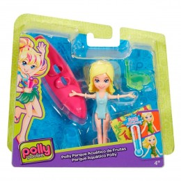 Polly Pocket - Parque Aquático de Frutas Polly - Mattel