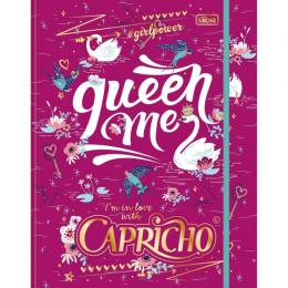 Fichário Argolado Carpricho Queen Me 80 fls - Tilibra
