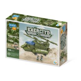Helicóptero Exercito 308 Peças Para Montar - Play Cis