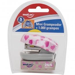 Mine Grampeador Molin Love c/1000 Grampos