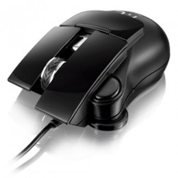 Mouse Multilaser Free Scroll Usb 1200dpi Preto - Mo190