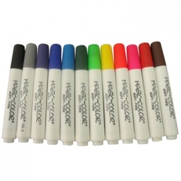 Marcador Magic Color Base Água 12 cores - 560