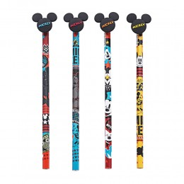 Lápis Preto Mickey Mouse c/36 unidades