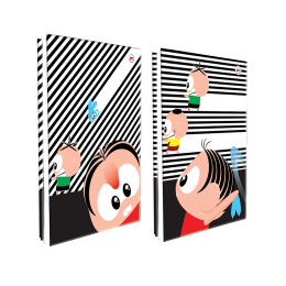 Pasta Catalogo c/10 Divisões - Turma da Mônica Toy