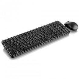 Teclado E Mouse Sem Fio 2.4 Ghz  Usb 101 Teclas - Tc183