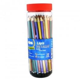 Lápis Preto Metallic - C/72 - Cis