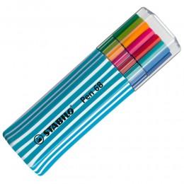 Caneta Stabilo Pen 68 C/15 Cores - 6815-05