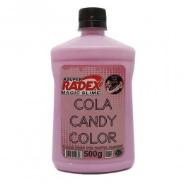 Cola Radex para Slime 500 Candy Color Rosa
