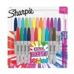 Marcador Pemanente Sharpie c/24 Color BURST