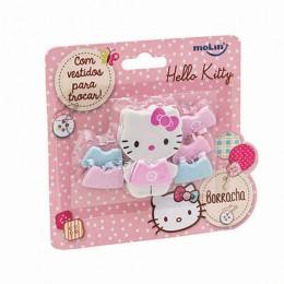 Borracha Body Hello Kitty c/ 1 Borracha e 5 Vestidos