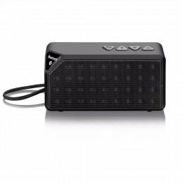 Caixa De Som Bluetooth 8w Micro Sd Preto Sp174