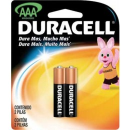 Pilha Duracell Alcalina AAA C/2 unidades