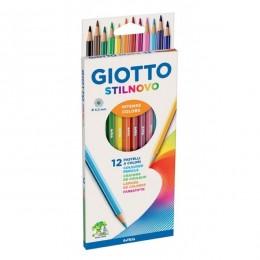 Lapis de Cor 12 Cores - GIOTTO Premium