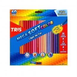 Lapis de cor Mega Soft 60 Cores