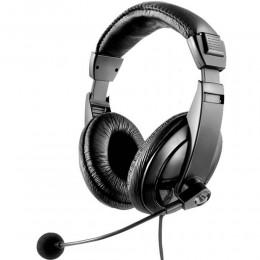Fone De Ouvido C/ Haste Microfone Flexivel Profissional Ph049 Multilaser