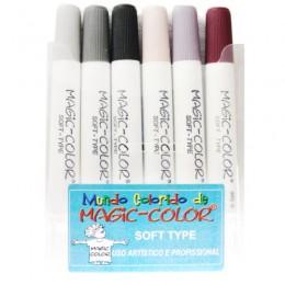 Caneta Magic Color Base de Agua 06 cores - 565