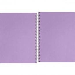 Caderno Espiral 1/4 Neon Lilas 80 fls
