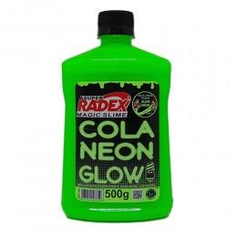 Cola Radex para Slime 500g Neon Glow Verde