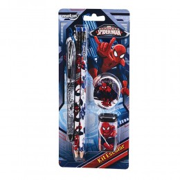 Kit Escolar Spiderman 5 Peças