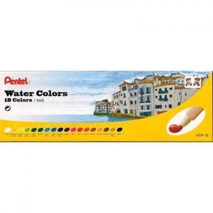 Aquarela em Tubo Pentel c/18 cores